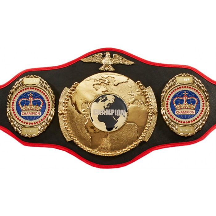 CHAMPIONSHIP BELT PRO018/WLDCHMP/BLUGEM/G IN 6 COLOURS
